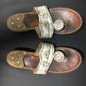 efebad3bfce8 Jack Rogers Shoes - Jack Rogers Hamptons Navajo Sandal size 8